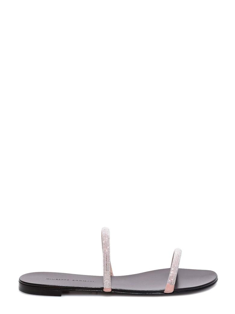 Giuseppe Zanotti Kanda Sandals - Silver