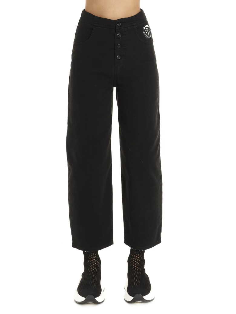 MM6 Maison Margiela 'rihanna' Jeans - Black