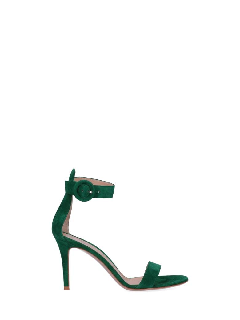 Gianvito Rossi Portofino 85 Sandals - Green