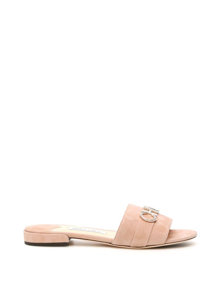 Jimmy Choo Choo Joni Sandals - BALLET PINK (Beige)