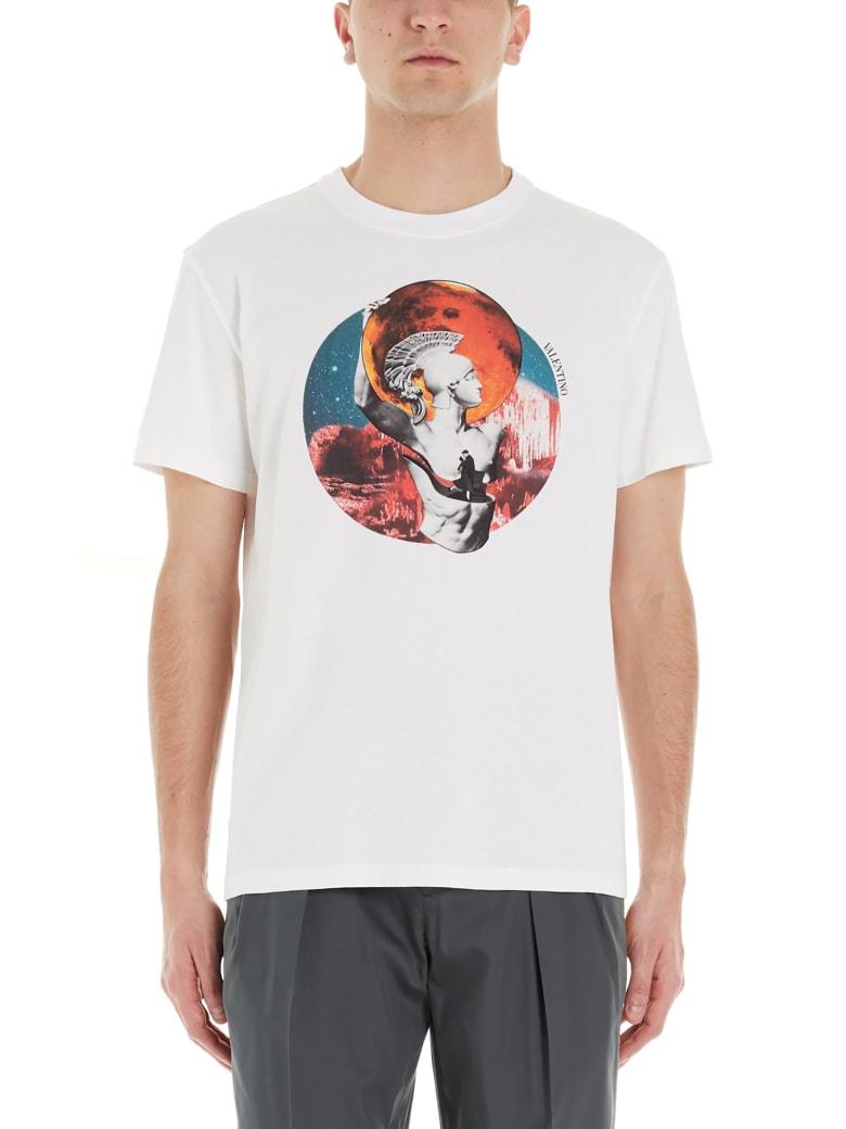 Valentino 'soul Planet' T-shirt - White