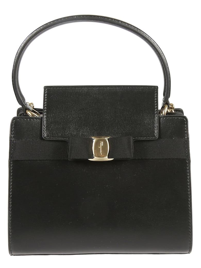 Salvatore Ferragamo Vara Shoulder Bag - Black