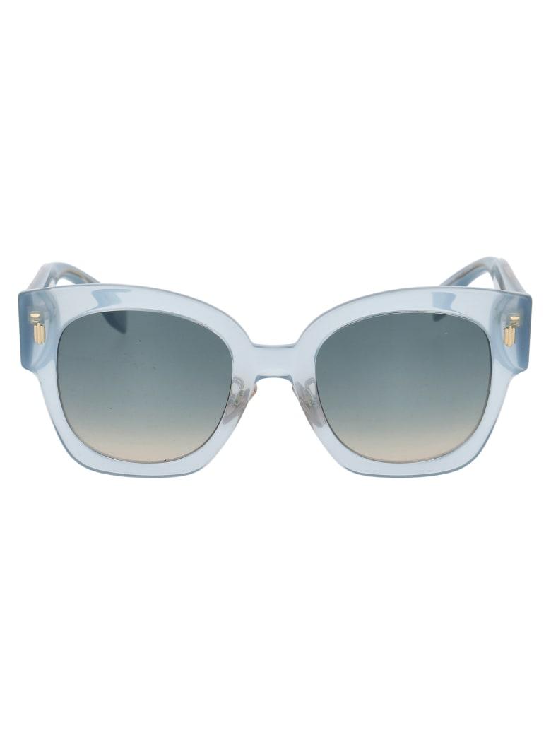 Fendi Ff 0458/g/s Sunglasses - MVUPR AZURE