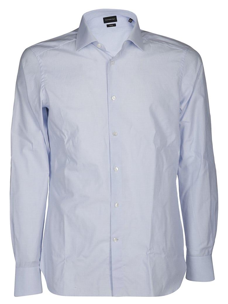 Ermenegildo Zegna Classic Cotton Shirt - LIGHT BLUE