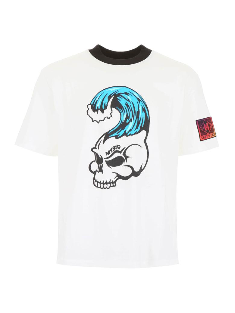 M1992 Skull Print T-shirt - BIANCO NATURALE (White)