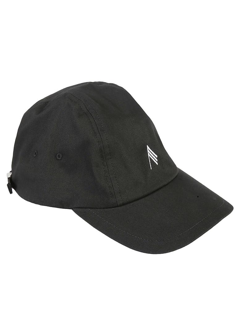The Attico Classic Baseball Cap - Black