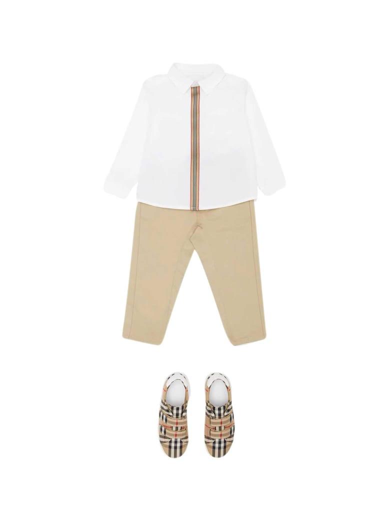 Burberry White Shirt - Bianco