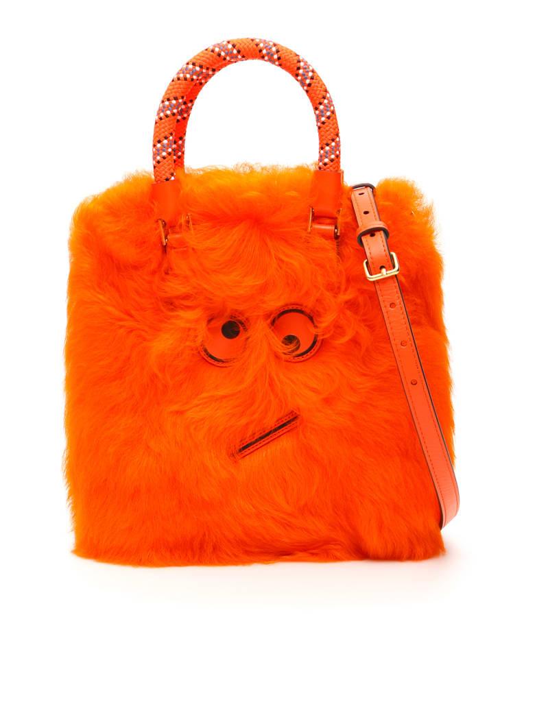 Anya Hindmarch Amused Face Small Bag - ARANCIO (Orange)