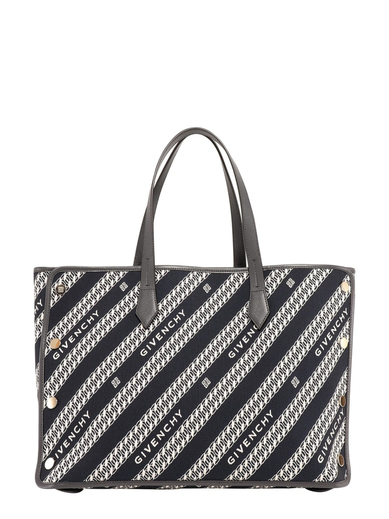 Givenchy Medium Logo-print Tote - Blue
