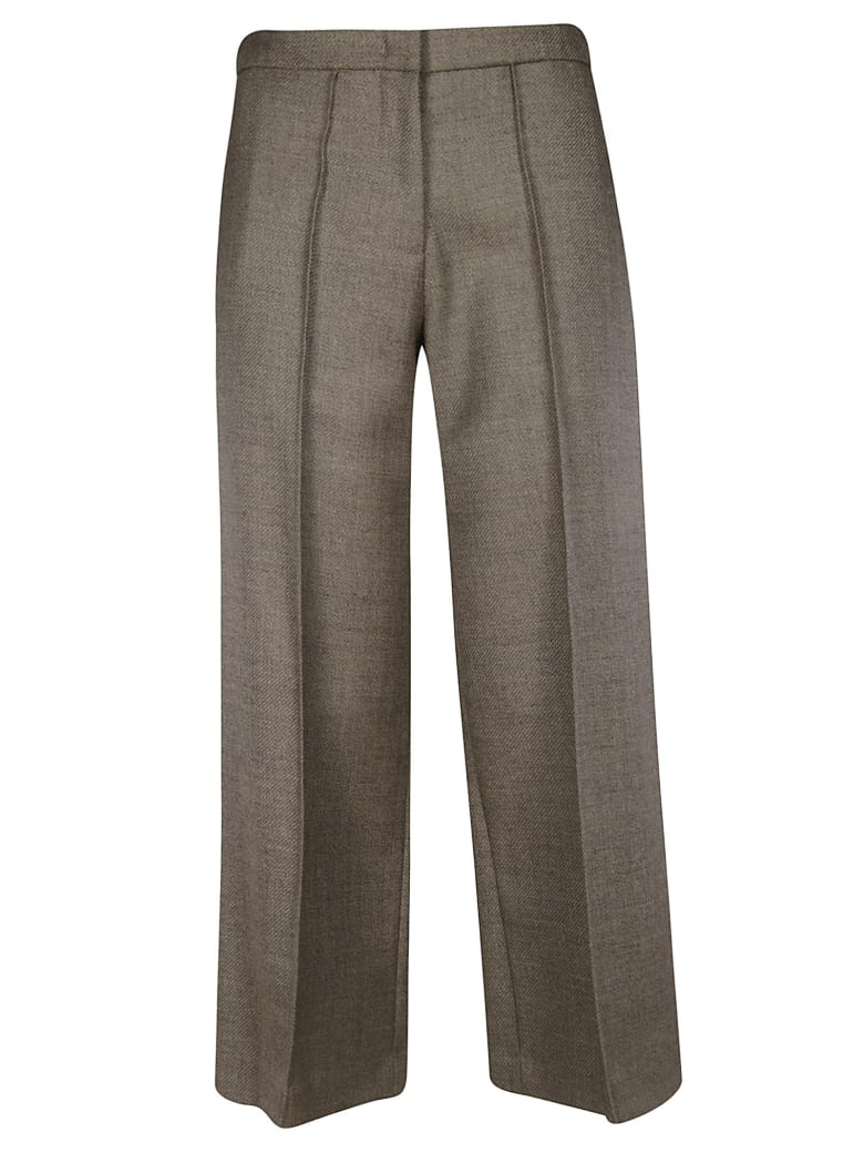 Erika Cavallini Flared Trousers - Grey