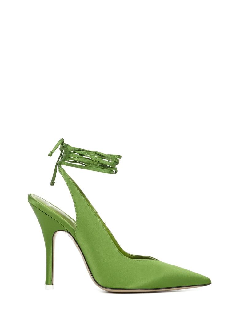 The Attico Venus Décolleté - Green