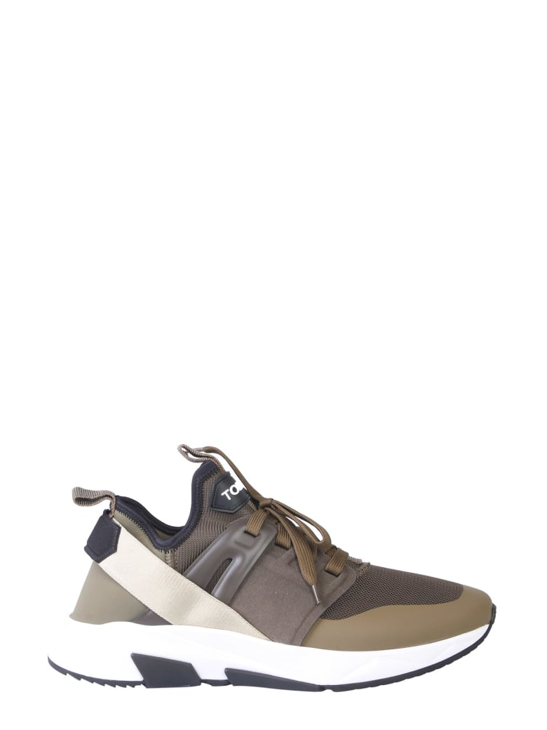 Tom Ford Low Sneakers - MILITARE