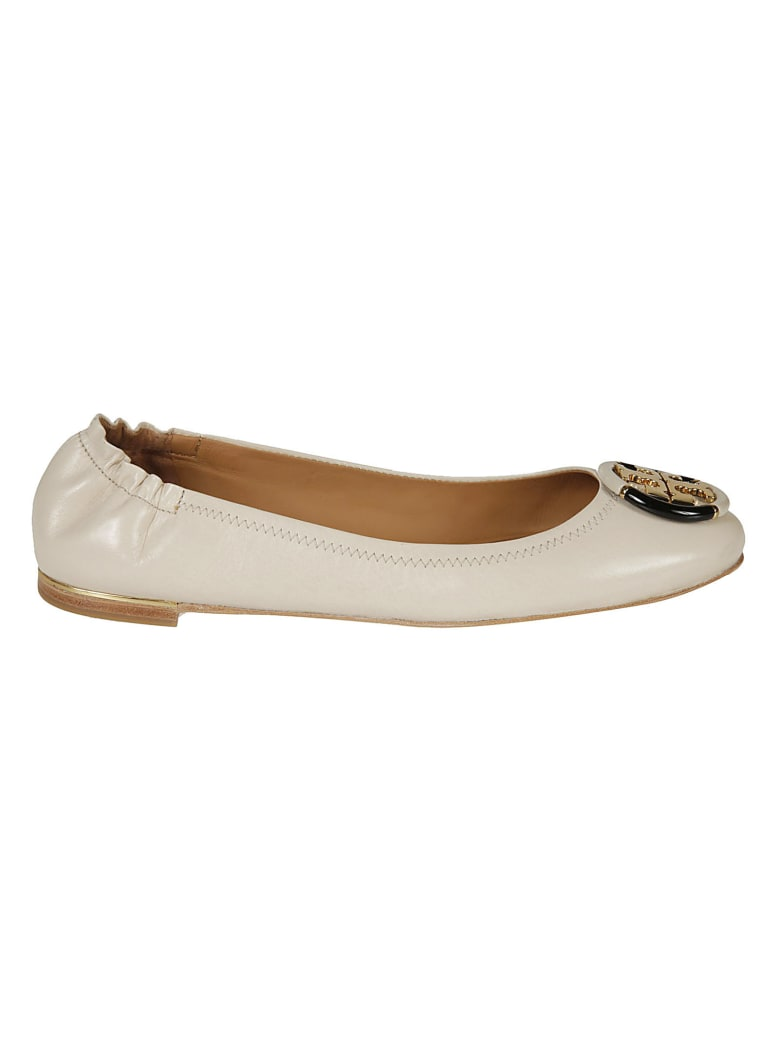 Tory Burch Minnie Ballerinas - Rice Paper