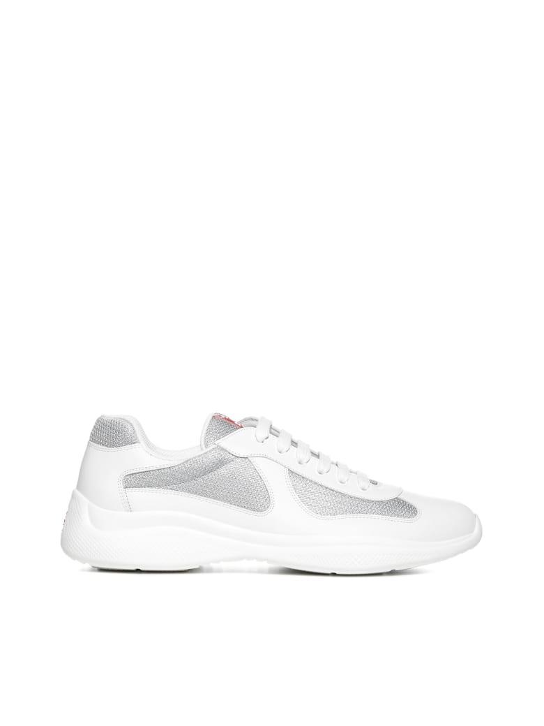 Prada Linea Rossa Sneakers - Bianco argento