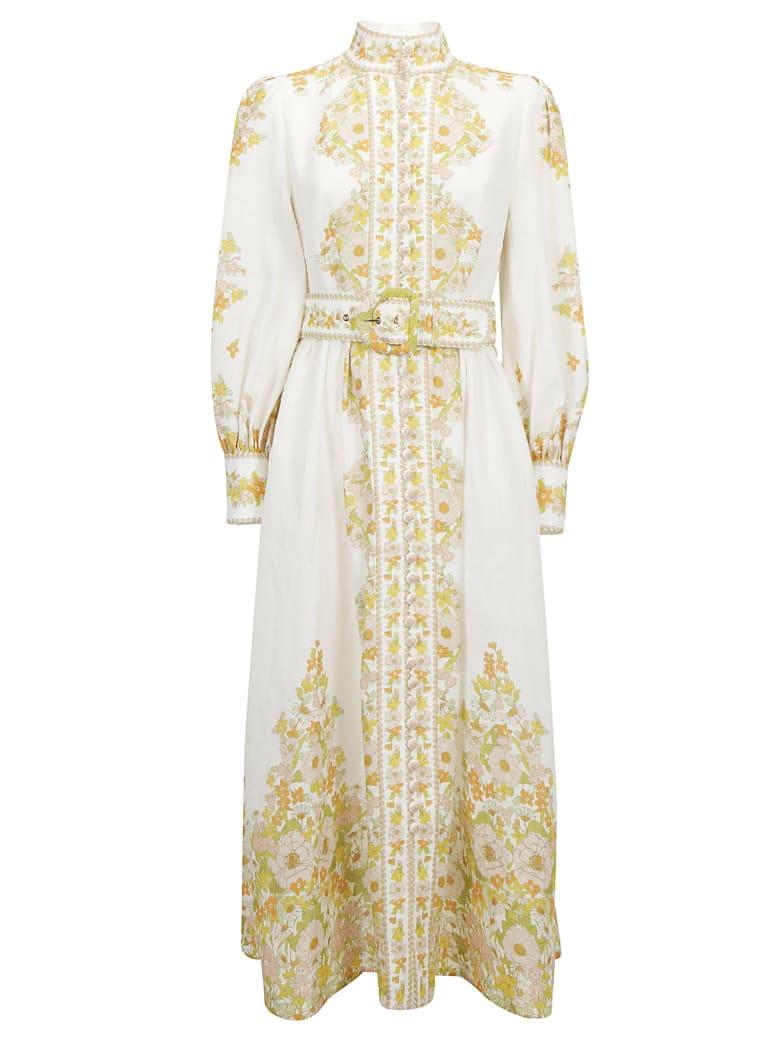 Zimmermann Long Dress - Pink meadow