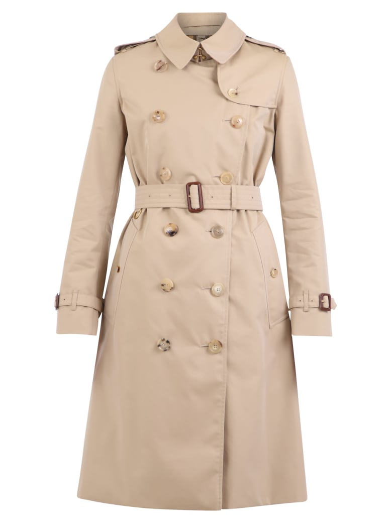 Burberry Kensington Trench Coat - Beige