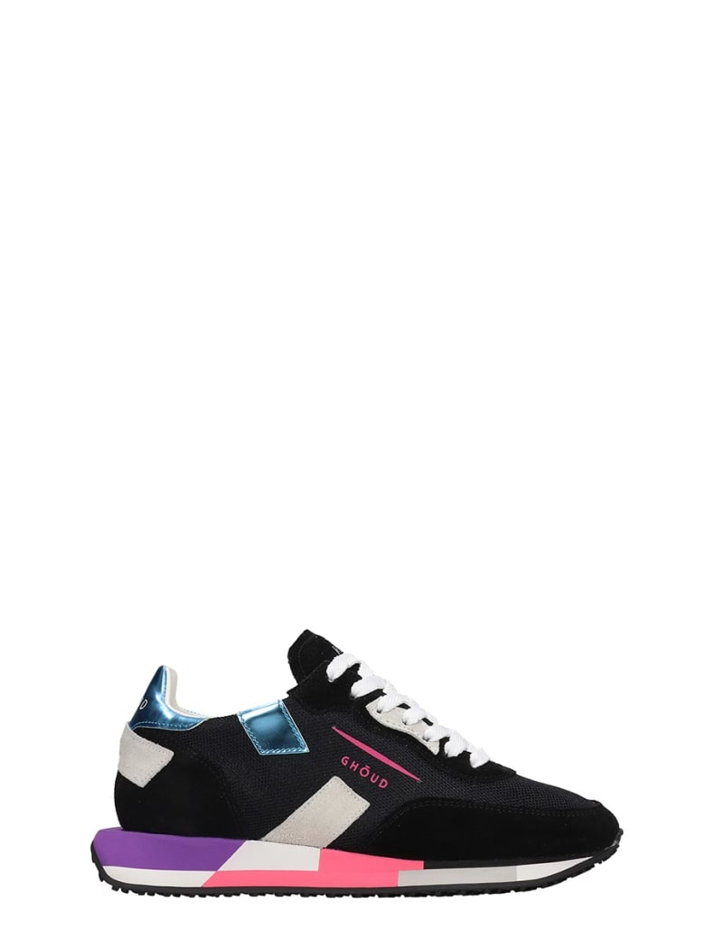 GHOUD Rush Sneakers In Black Tech/synthetic - black