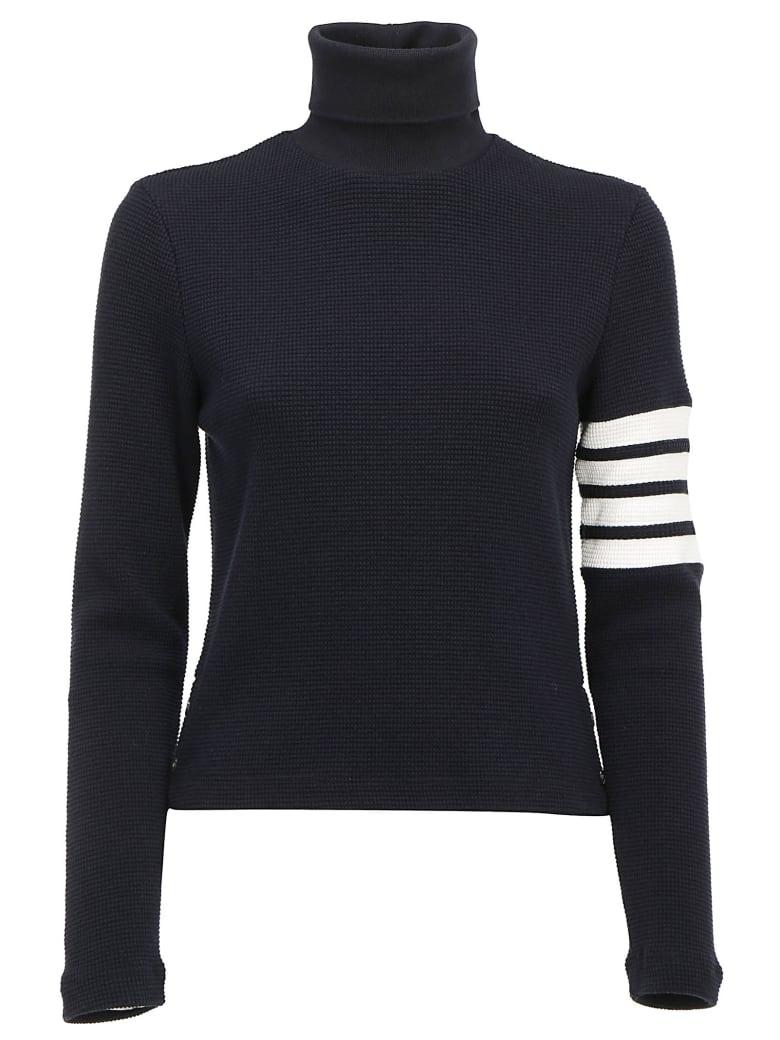 Thom Browne Turtleneck Sweater - Navy