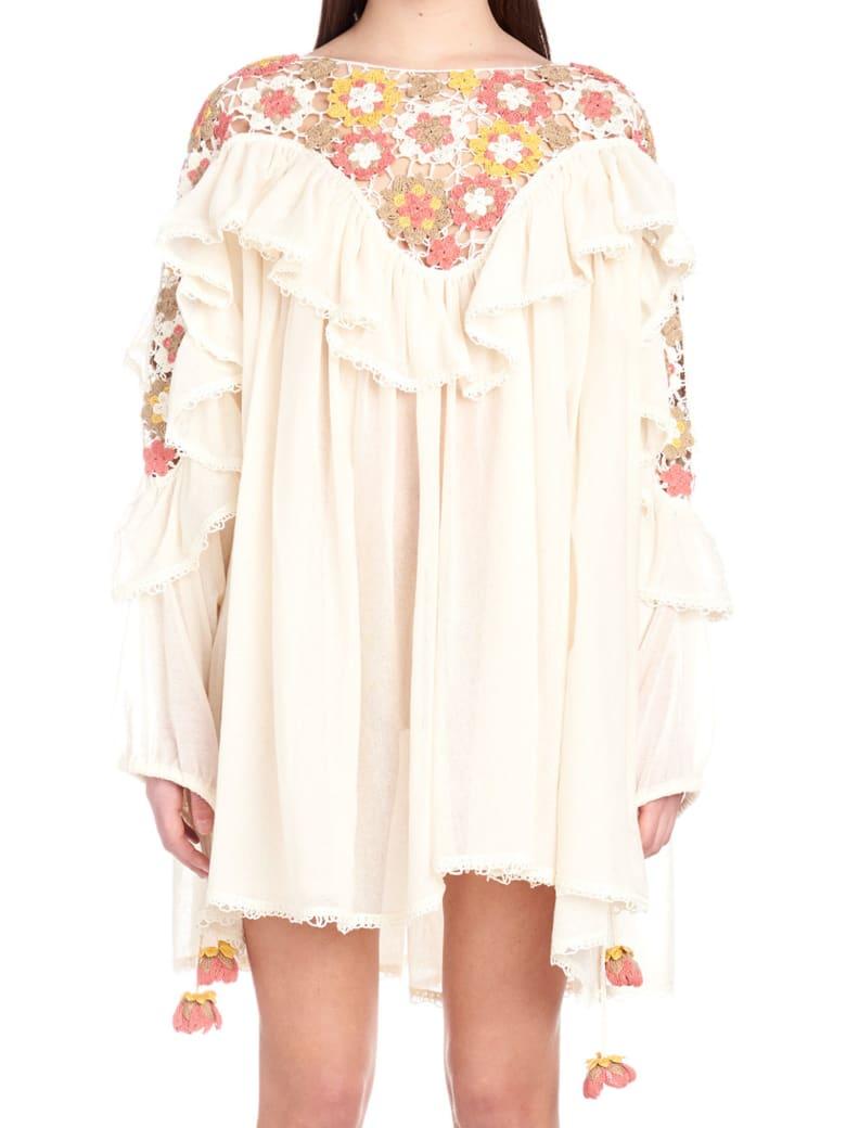Alanui 'cornely' Dress - White