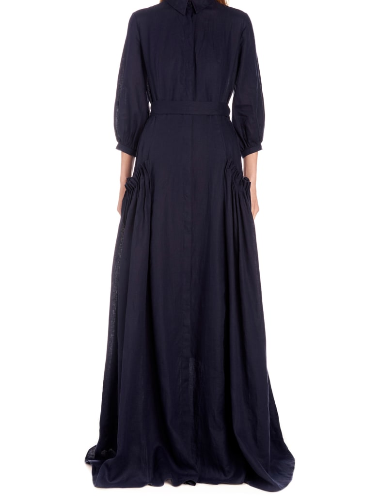 Gabriela Hearst 'cervantes' Dress - Blue