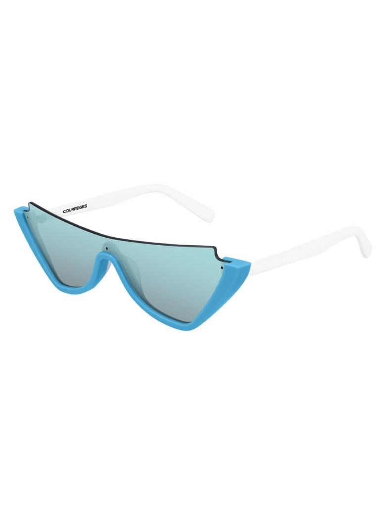 Courrèges CL1910 Sunglasses - Blue White Light Blue