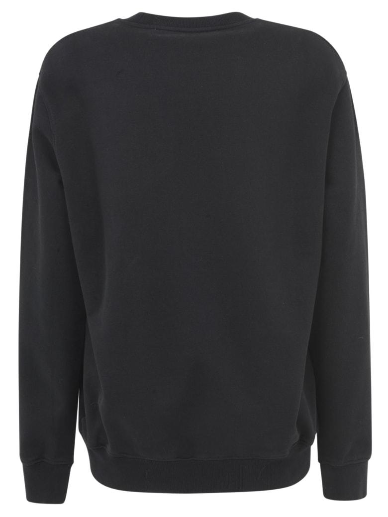 Off-White Typo Mix Regular Sweatshirt - Black/Multicolor