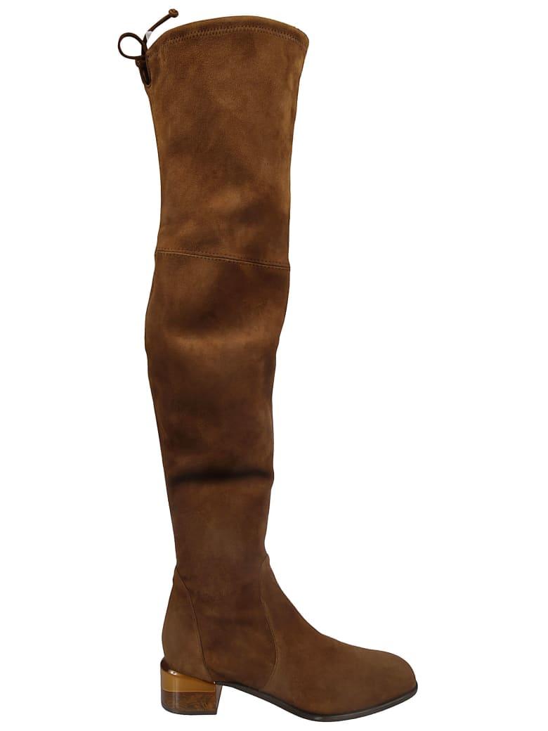 Stuart Weitzman Charolet Boots - coffee