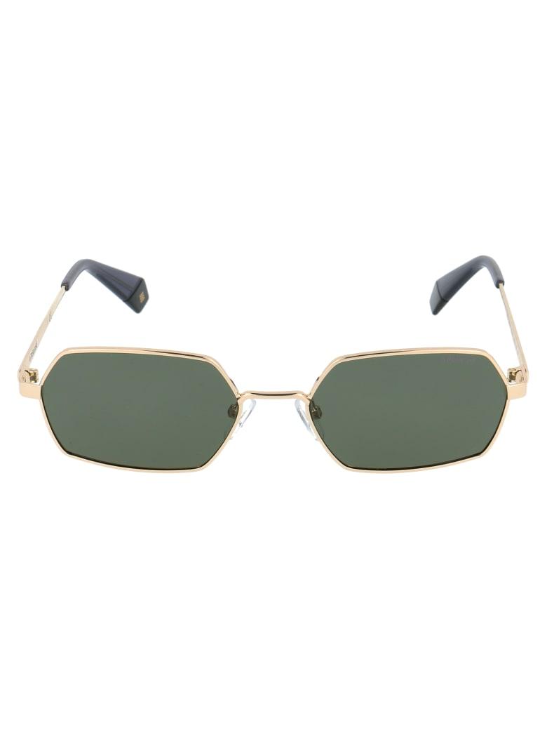 Polaroid Pld 6068/s Sunglasses - PEFUC GOLD GREEN