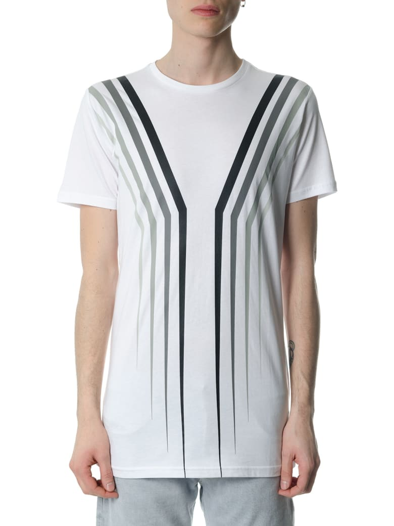 Diesel Black Gold Tyrone Claw White T-shirt - White