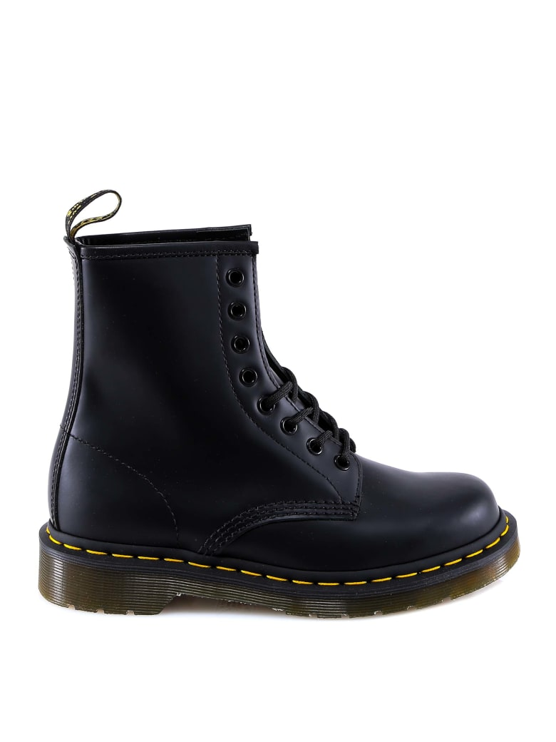 Dr. Martens 1460 Smooth Ankle Boots - Black