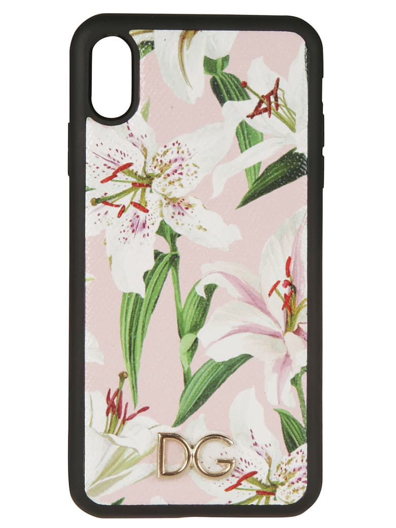Dolce & Gabbana Dauphine Print Iphone Xs Max Cover - Rosa