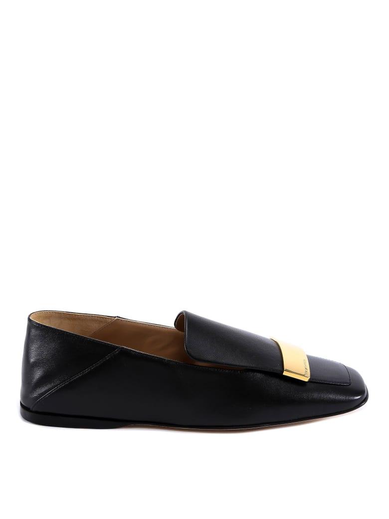 Sergio Rossi Nappa Seventy Shoes - Black