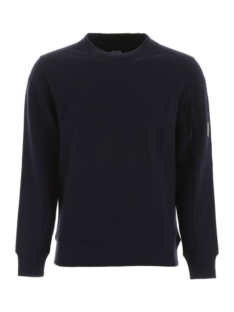 C.P. Company Lens Sweatshirt - TOTAL ECLIPSE (Blue)