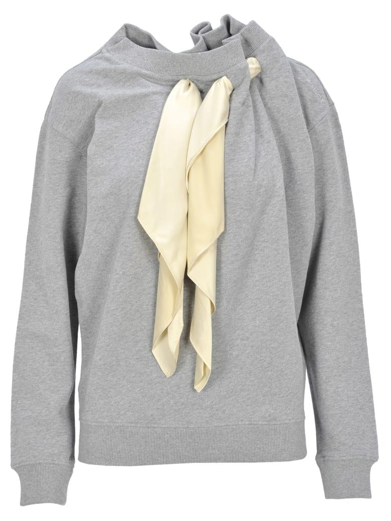 Y/Project Y / Project Scarf Detail Sweatshirt - GREY