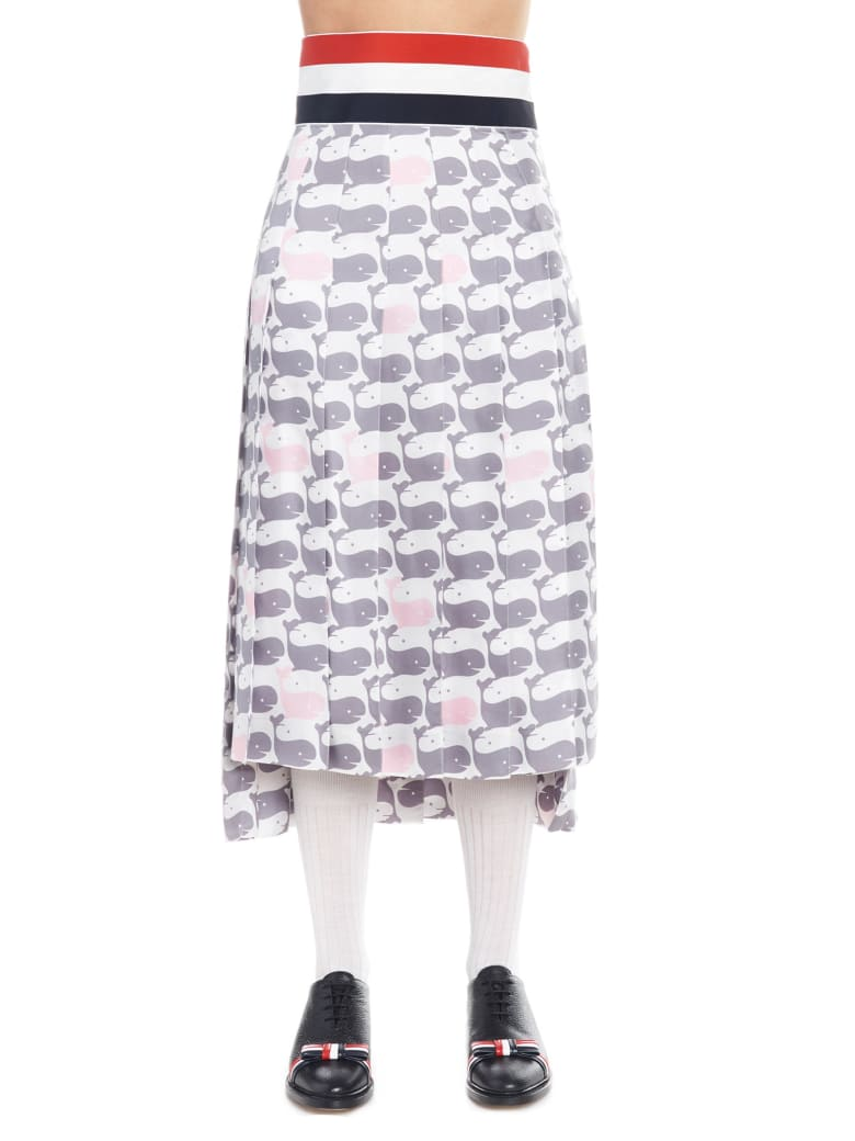 Thom Browne 'midi' Skirt - Multicolor