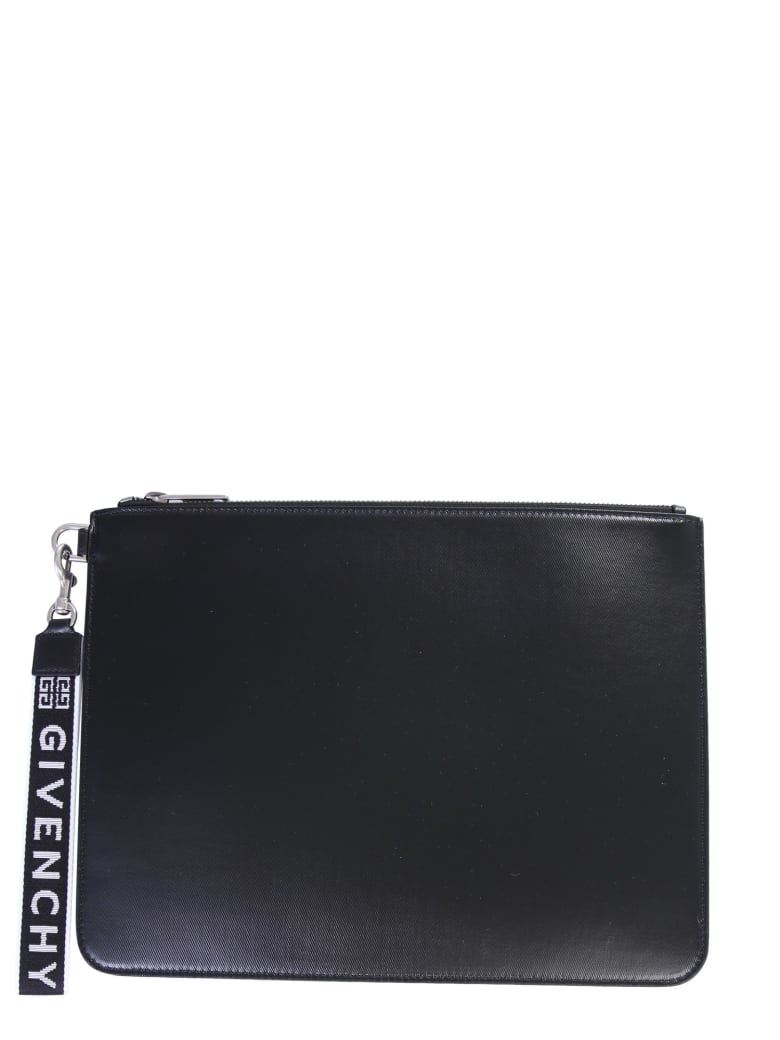 Givenchy Pouch With Logo - Nero