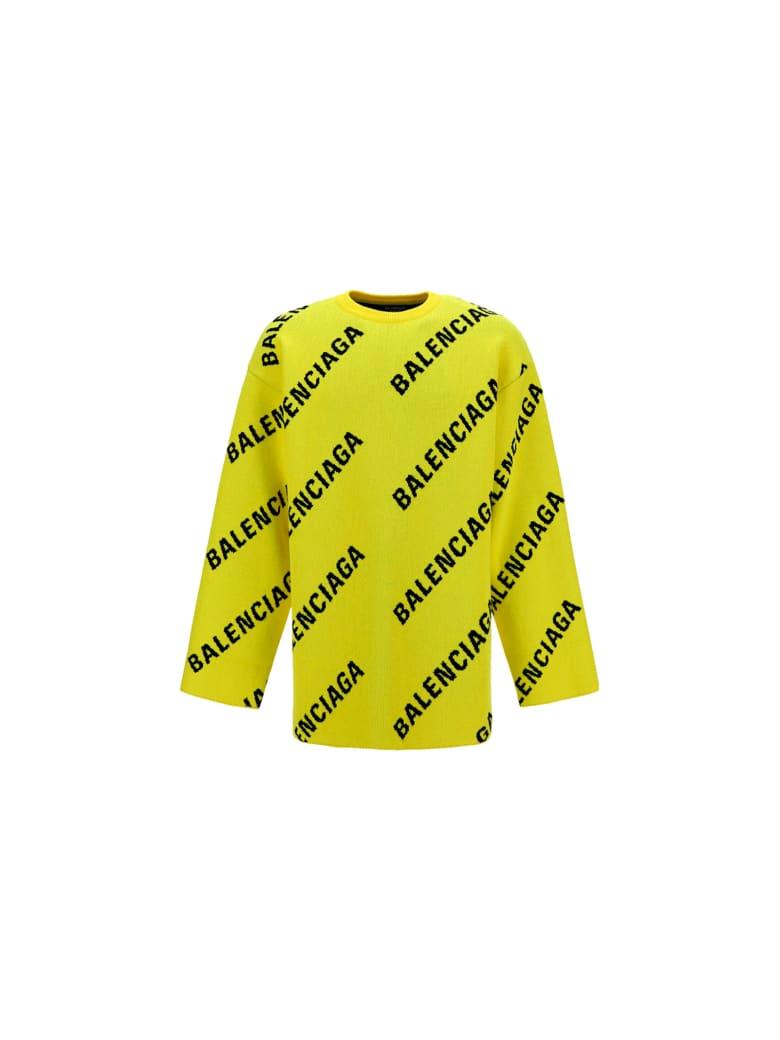 Balenciaga Sweater - Giallo e Nero