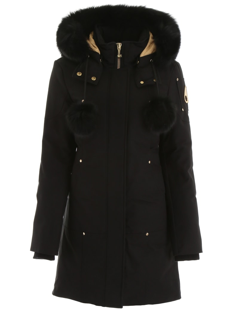 Moose Knuckles Coat - Black