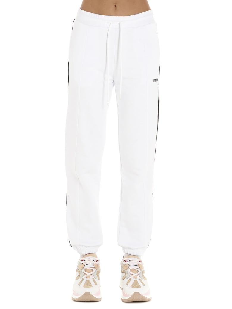 MSGM Sweatpants - White