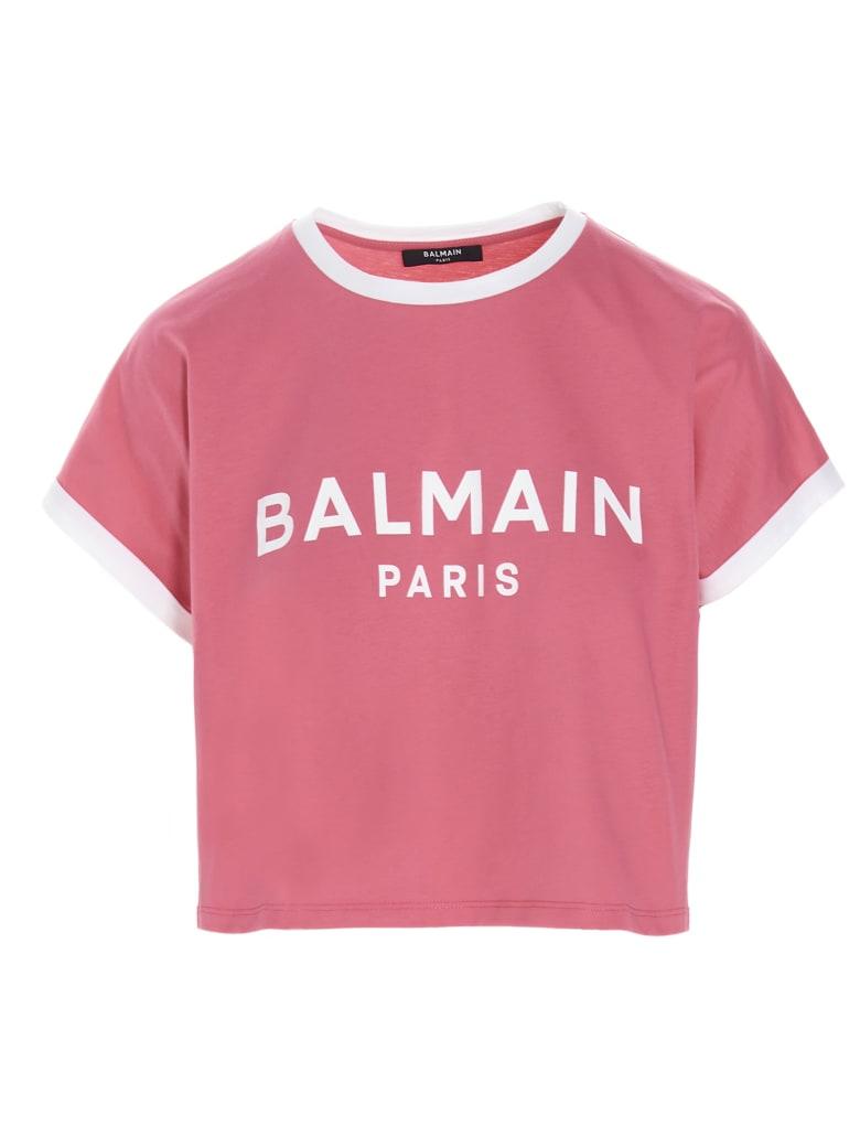 Balmain T-shirt - Fuchsia