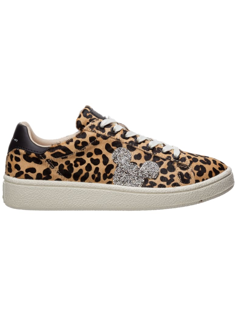 M.O.A. master of arts Moa Master Of Arts Disney Mickey Mouse Sneakers - Marrone