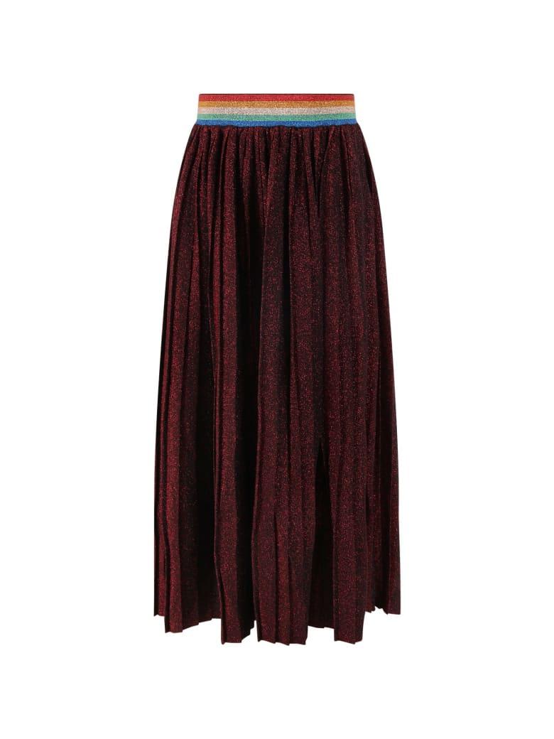 Sonia Rykiel Red Skirt For Girl - Red