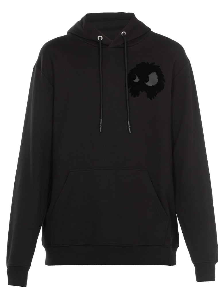 McQ Alexander McQueen Chester Monster Sweatshirt - Darkest Black