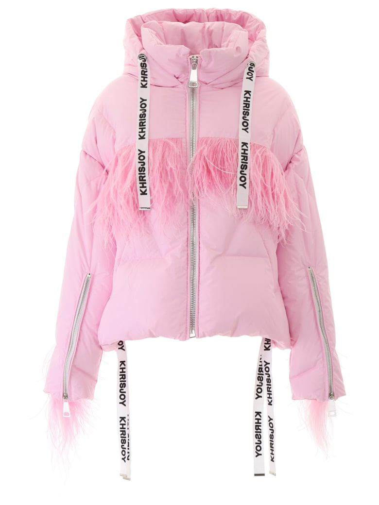 Khrisjoy Khris Puffer Jacket With Feathers - ROSA (Pink)