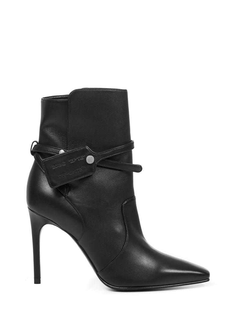 Off-White Zip Tie Boots - Black