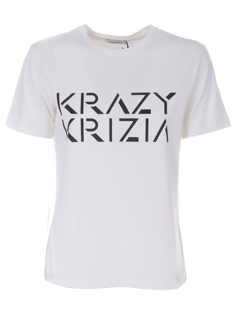 Krizia Short Sleeve T-Shirt - Bianco
