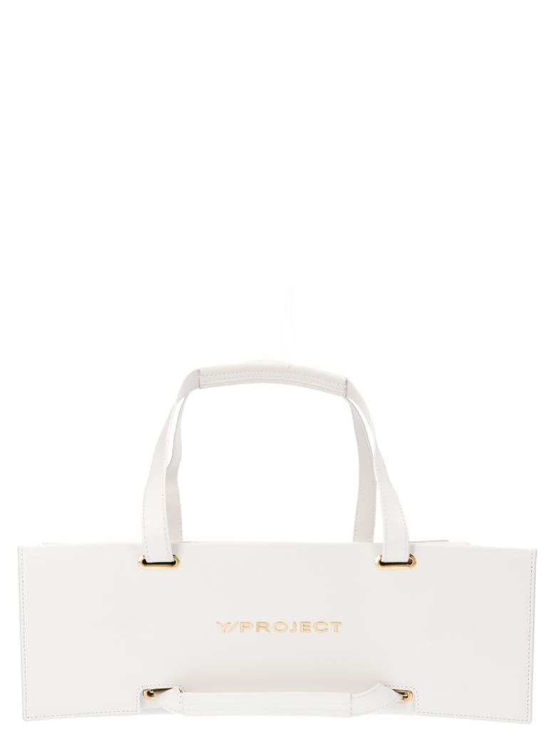 Y/Project 'accordion' Bag - White