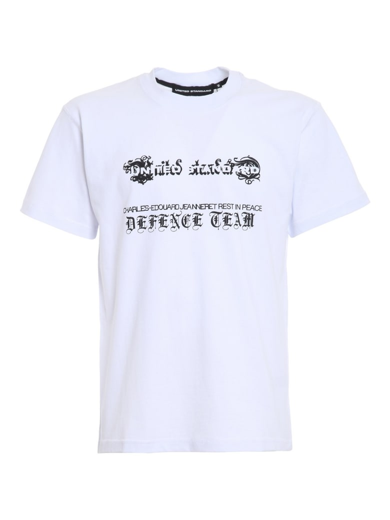 United Standard Rip T-shirt - Wht White