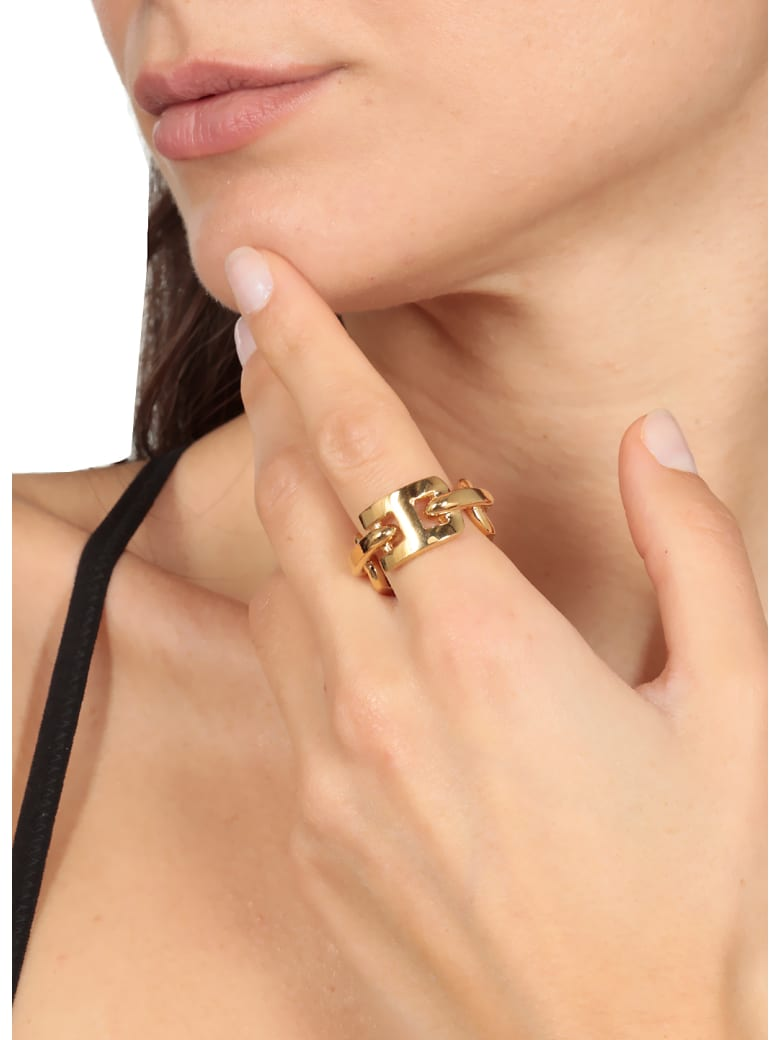 AMBUSH Golden Rilver Ring - GOLD