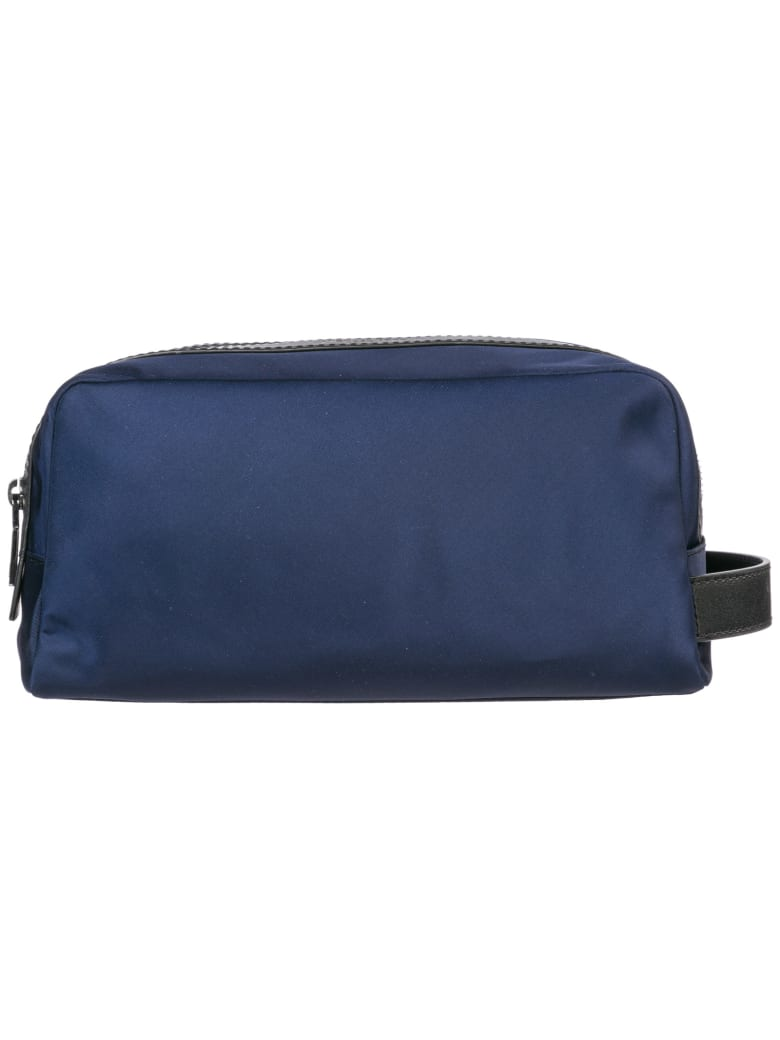 Michael Kors  Travel Toiletries Beauty Case Wash Bag In Nylon Kent - Indigo